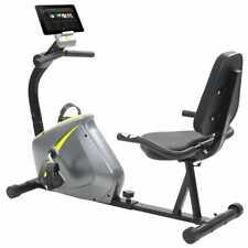 vidaXL Magnetic Recumbent Exercise Bike with Pulse Measurement Machine Trainer