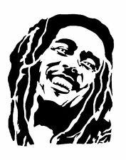 High Detail Aerografo Stencil Bob Marley undici spedizione gratuita nel Regno Unito