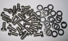 VW Air cooled engine tinware screws beetle T2 Bay Split  - Stainless - Qty 25