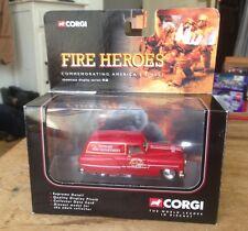 CORGI FIRE HEROES CS90014 PONTIAC NEWARK FIRE SUPPORT VAN MIB
