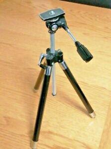Vintage Japan Made Telescopic Camera Tripod with Original Case - Super Item