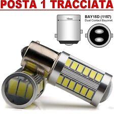 LAMPADA LED STOP FRENI 33 SMD P21W BAY15D CANBUS AUTO MOTO CAMPER FURGONE 12V