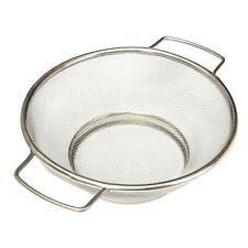 Stainless Steel Fine Mesh Strainer Bowl Drainer Vegetable Colander Sifter LW