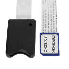 Cablecc SD SDHC Memory Card Kit Male to Female Extension Soft FPC Cable 25cm