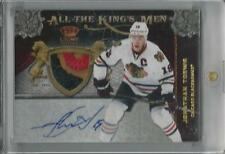 2011-12 CROWN ROYALE ALL THE KINGS MEN JONATHAN TOEWS AUTO 3 COLOR PATCH 05/10!!