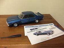 AUTOART 1:18 CLASSIC CARLECTABLES HOLDEN HJ GTS MONARO DEAUVILLE BLUE