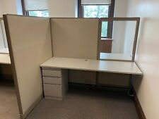 Pof Of 4 6x4x64h Cubicles Workstations By Haworth Office Furniture