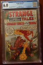 Strange Tales 116 CGC 6.0 1st Thing X-over 2nd Nightmare Off-White - White Pages