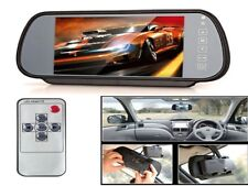 """Monitor LCD 7"""" specchietto auto con 2 ingressi video per telecamere retromarcia"""