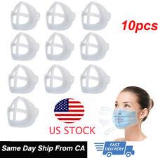 10x 3D Face Mask Inner Support Frame Silicone Mouth Mask Bracket Reusable Holder