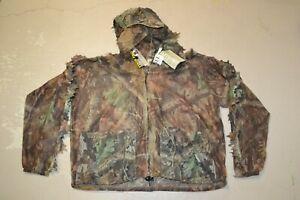 3D Bug Master Hunting Underbrush Mens 3D Lite Camouflage Hunting Jacket L/XL