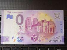 BILLET EURO SOUVENIR 2021-1 TOUL CATHÉDRALE ST-ETIENNE