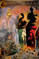 Framed Print - Salvador Dali The Hallucinogenic Toreador (Painting Picture Art)