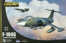 KINETIC GOLD 48083 F-104G Starfighter Luftwaffe & Marine in 1:48 LIMITED