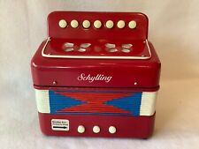 Schylling The Little Red Accordion Child's Squeeze Box