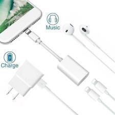 Charge Charger Cable And Headphone Audio Splitter Adapter For iPhone 7/7Plus