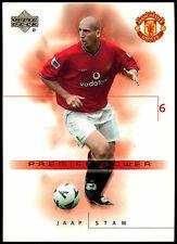 Jaap Stam Manchester United #51 Upper Deck 2001 Football Trade Card (C361)