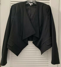 A Pea In The Pod Maternity Career Suit Jacket Size Medium Cropped Black