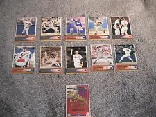 1996 PACIFIC McCORMICK & BROOKSHIRE'S 11 CARDS NOLAN RYAN SET