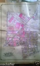 Orig 1927 E. Belcher Hyde Atlas Map QUEENS NY Maspeth Heights 54TH AV - GRAND AV