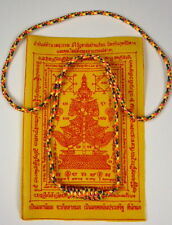Buddha Sacred NECKLACE B.  Blessed by Buddhist Monk. PROTECTION, RICHES & LUCK.