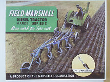 Field Marshall Tractor Metal Reproduction Sign VM0026