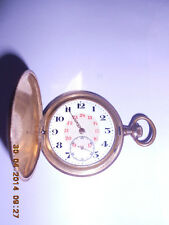 A LILLE 1902 ANCRE FRENCH POCKET WATCH NON MAGNETIQUE 15 RUBIS RARE & ANTIQUE