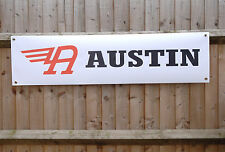 Austin cars workshop or garage pvc banner, A40, A50, A55, A99 etc