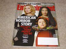 AMERICAN HORROR STORY * JESSICA LANGE BASSETT 2013 ENTERTAINMENT WEEKLY MAGAZINE