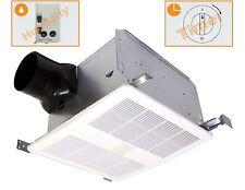 KAZE APPLIANCE SE90TH Quiet Bathroom Exhaust Fan w Humidity Sensor & Delay Timer