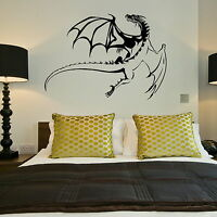 Dragon Giant Removable Wall Sticker / Wall Sticker / Large Vinyl Transfer NE126