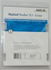 NEW Magellan MapSend BlueNav Europe Maps XL3 UK NORTH & EAST SD Card - Meridian