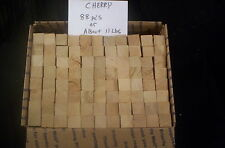 CHERRY Grilling Wood Sticks BBQ Cooking Roasting Chunks Smoking Smoker Charcoal
