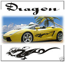 TRIBAL DRAGON STRIPES CAR DECALS GRAPHICS STICKERS