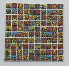 More details for dancing stickmen blotter art psychedelic art lsd acid art 100 tab sheet gift