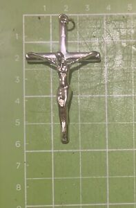 large 925 silver cross pendant