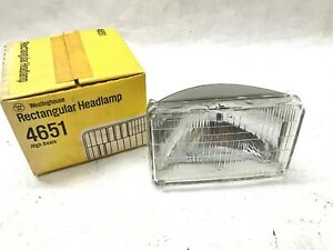 Headlight Bulb-Headlamp Westinghouse Philips 4651 for Chevrolet Dodge GMC Buick