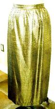 NWOT HANDMADE GOLDEN COLOR ELEGANT SKIRT, SIZE L