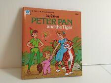 Vtg. Nos Peter Pan and The Tiger Walt Disney's Unused