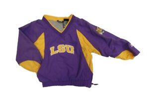 STARTER Louisiana State Tigers Youth Pullover Windbreaker Jacket (S4/5)