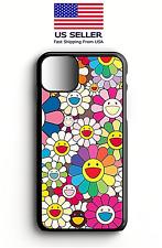 Takashi-Murakami Flowers Print Phone Case For Iphone| Samsung | Goggle | LG