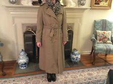 Burberry Womens XL Trench Coat w/ Zip Out Lining sz 10