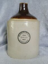 Early 1900s Red Wing Stoneware MINNEAPOLIS DRUG COMPANY Advertising 1 Gal. Jug