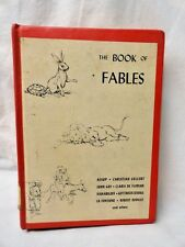 The Book of Fables Aesop & Will Nickless 1st Edition 1963 Children's Hardcover
