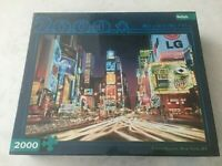 NEW Buffalo Games Times Square New York NY 2000 Puzzle pieces 98cm x 67cm