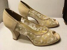 Vintage wedding shoes - Ann Marino 6.5