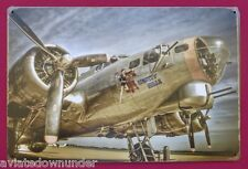 B-17 Flying Fortress WW2 Era Tin Poster