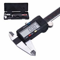 150MM/6inch LCD Digital Electronic Vernier Caliper Gauge Micrometer Ruler Tool