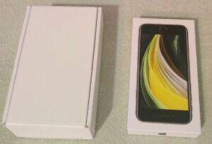 Boîte IPhone SE 2020 Noir 2nd Génération 64 GB - Boite Vide nouvelle Version FR