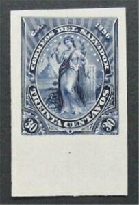 nystamps El Salvador Stamp Mint Proof Rare      S24x1060